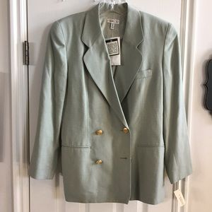 NWT Talbots vintage double breasted blazer